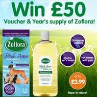 £50 B&M Voucher plus a YEAR'S SUPPLY of LoveZoflora to Be #WON!