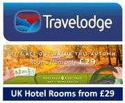 Travelodge UK Hotel Rooms from £29 This Autumn - CENTRAL LONDON £39