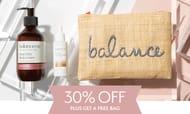 Save 30% + Free Bag