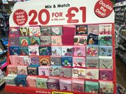 20 Cards for £1 Greeting Cards - the Works