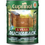 Cuprinol Ducksback for Sheds and Fences 5Ltr Free C&C