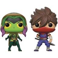 Funko Pop! Marvel vs Capcom Infinite: Gamora vs Strider 2-Pack