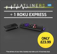 ROKU Express + Flatliners in HD £23.99 Delivered at Rakuten TV