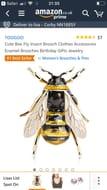Bee Broche