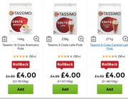 Costa Tassimo Coffee Pods £4 a Pack of 8/16