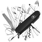 Victorinox Army Knife Swiss Champ Black