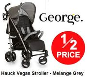 HALF PRICE at GEORGE: Hauck Vegas Stroller Now Just £80
