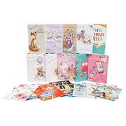 Box of 576 Assorted Greeting Cards - 12x48 Designs Free C&C