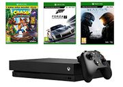 Xbox One X Forza 7 Bundle + Crash Bandicoot + Halo 5