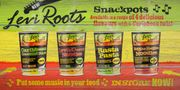 NEW Range of Snack Pots from Levi Roots. They're Only £1