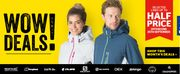 Go Outdoors WOW Deals: Up to Half Price off Selected Lines Sale