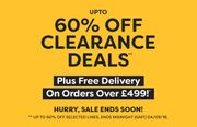 60% off Clearance Deals