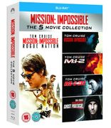 Mission: Impossible 1-5 [Blu-Ray]