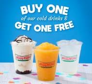 Krispy Kreme 2 Drinks Price of 1