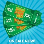 Half Price Family Ticket 2 Adults 2 Kids
