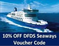 10% OFF DFDS SEAWAYS Ferry Crossing Bookings