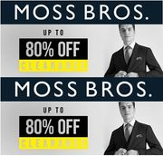MOSS BROS FINAL CLEARANCE - Suits from £59