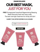 A GIFT, Just for You! Free Mask with Every Order