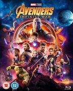 Avengers: Infinity War Blu Ray for £13.49 (10% Off)