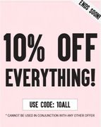 Ax Paris 10% off Everything Sale
