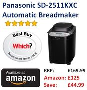 Cheap Price, save £45! Panasonic SD-2511KXC Breadmaker ***4.8 STARS***