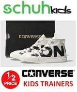 Half Price Kids Converse Trainers