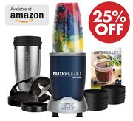 25% off at AMAZON: NUTRiBULLET 1000 Series Blender 9-Piece Set