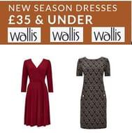 WALLIS New Season Dresses - NOW £35 and UNDER