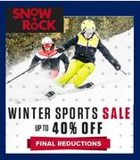 Who Loves Skiing? SALE'S ON at Snow + Rock