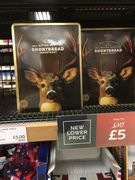 Half Price M&S Stag Tin (All Butter Shortbread)