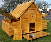 Chicken Coop Hen House Poultry Ark Nest Box