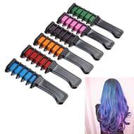 Frcolor Hair Chalk Set, Temporary Hair Chalk Comb