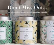 Free Delivery on All Items Online at Whittards until Midnight Tonight