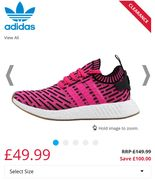 Adidas Originals NMD_R2 Primeknit Trainers Various Sizes Low Stock