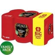 Heinz Tomato Soup 6pk 2 for £5