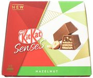 Kitkat Senses Hazelnut Box of 20 Bite Size Pieces, 200 G (Pack of 6)