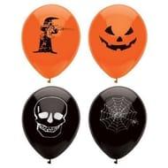 15 Assorted Halloween Balloons