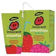 Innocent Kids Strawberry, Blackberry & Raspberry Smoothie + All Varities