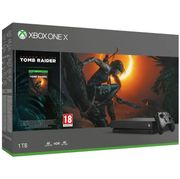 XBOX ONE X 1TB with SHADOW of the TOMB RAIDER + OVERWATCH Only £449.99