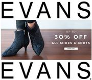 Wide Feet? up to 30% OFF ALL SHOES & BOOTS AT EVANS