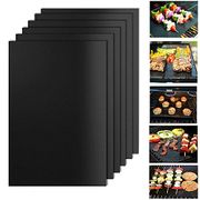 50% off Hebey BBQ Grill Mat, Set of 6 Non-Stick and Heat Resistant BBQ Grill