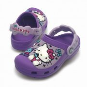 Kids Hello Kitty Creative Clog Candy & Ribbons Purple, Hello Kitty Design
