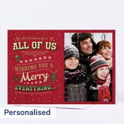 Photo Upload Christmas Card - from All of Us Multibuy Savings up to 50%