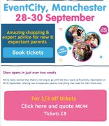 1/3 off Baby and Toddler Show Tickets!