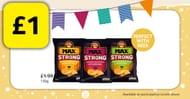 Walkers Crisps Max Strong #Crisps for £1