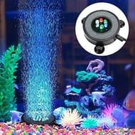 Supmaker Aquarium Air Stone Fish Tank Led Air Stone Bubble Light