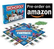 Cheapest UK Price Monopoly Fortnite Edition Board Game