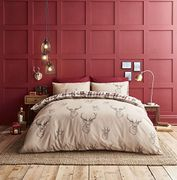 Catherine Lansfield Stag Easy Care King Duvet Set