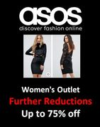 FURTHER REDUCTIONS at ASOS - up to 75% off Now! Dresses, Coats, Jackets & Shoes