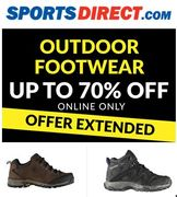 Up to 70% off OUTDOOR FOOTWEAR at Sports Direct